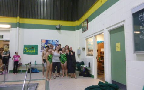 Seahawk Swimming