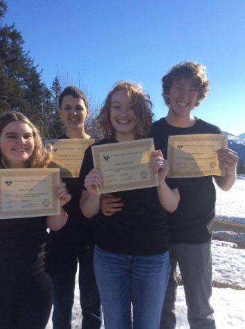 SHS Duo Place 6th in Caring for the Kenai Competition