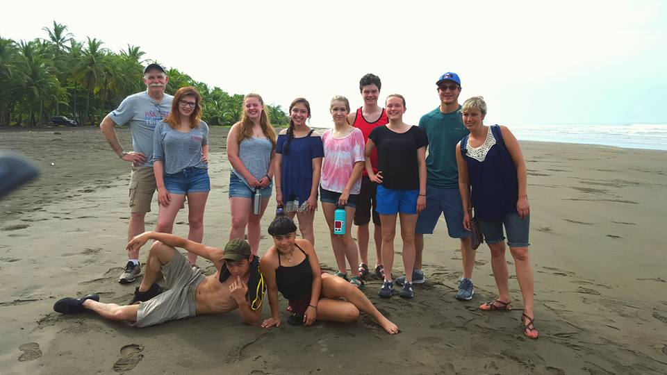Standing (Left to Right): Ronn Hemstock, Kendyl Morris, Meghan Mullaly, Celina Casares, Tanis Lorring, Logan Smith, Emilia Whitcome, Eli Davis, Bethany Waggoner. Laying (Left to Right): Cole Norcross, Naomi Ifflander.