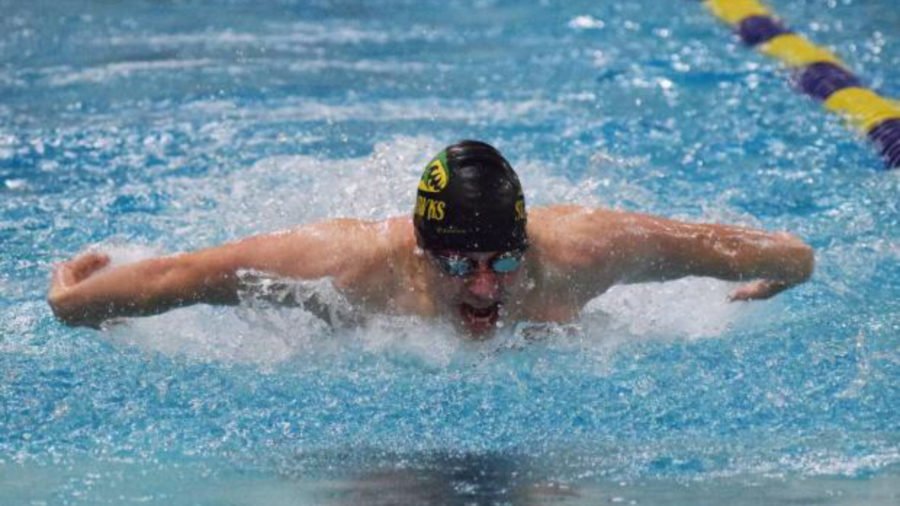 Swim Highlights: 2 Seniors and 1 State Qualifier