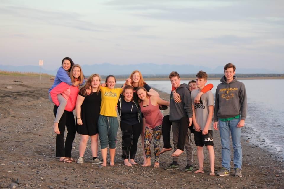 Team photo in Kenai. Photographer: Sarah Spanos