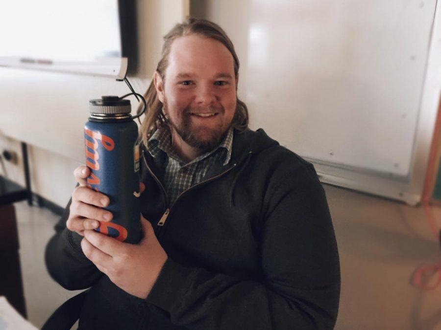 My water bottle. -Teacher Zachery Cureton