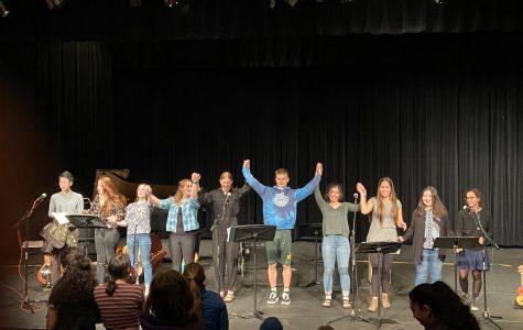 Good job Music Collective!! Josh P. , Rowan B. , Aly G. , Hailey A. , Lydia J. , Trey I. , Anevay A. , Selam C. , Taylor H. and , Belladonna D.