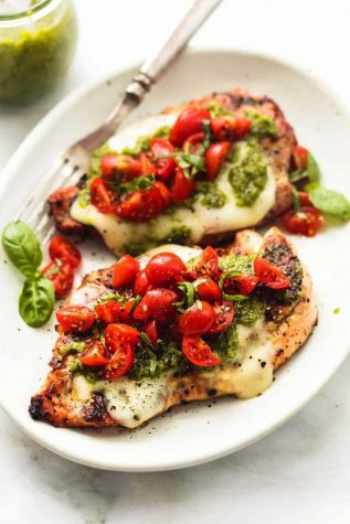 Grilled Chicken Margherita