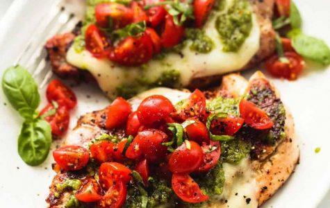 Grilled Chicken Margherita