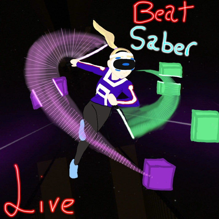 Cringy+Nerd+VS+Beat+Saber+Live