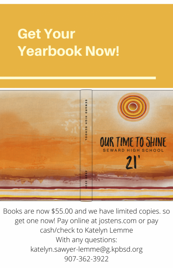 Get your yearbook now! Like right now