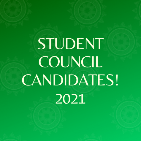Student Council Candidates 2021!